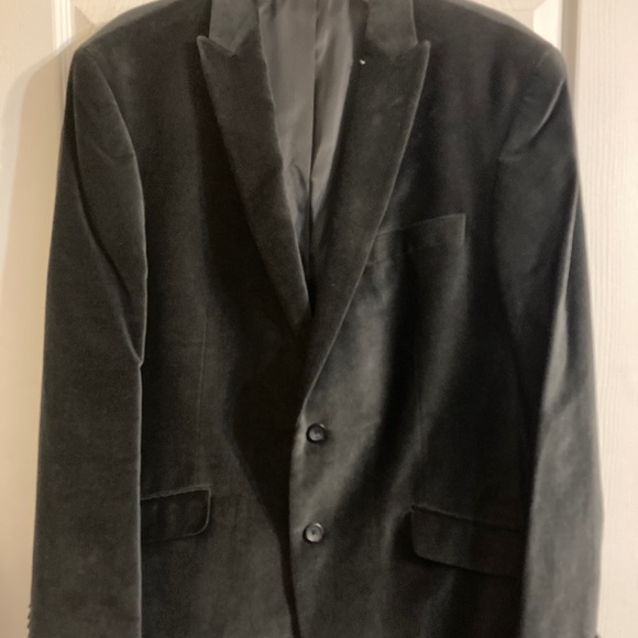 Men's Kenneth Cole velvet Blazer Large